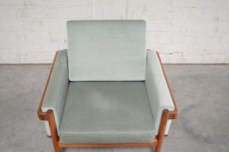 Henry Walter Klein Danish Modern Pair of Teak Easy Chair for Bramin In Good Condition For Sale In Munich, Bavaria