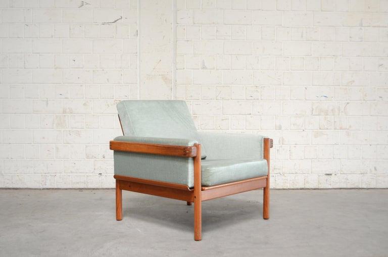 Mid-20th Century Henry Walter Klein Danish Modern Pair of Teak Easy Chair for Bramin For Sale