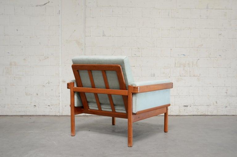 Henry Walter Klein Danish Modern Pair of Teak Easy Chair for Bramin For Sale 1