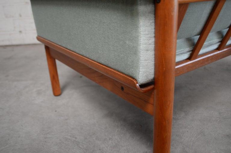 Henry Walter Klein Danish Modern Pair of Teak Easy Chair for Bramin For Sale 2