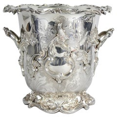 Henry Wilkinson & Co. Magnificent Champagne / Wine Cooler in Silver Plate