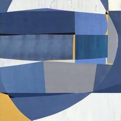 Winter Morning - Cubist Abstract Original Artwork