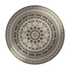 Hera Round Mosaic Panel by Mutaforma