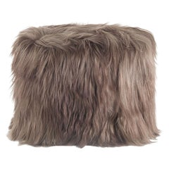 Hera.2 Pouf in Fur by Roberto Cavalli