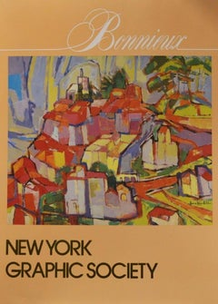 """Poster-""""Bonnieux I Love You"""" New York Graphic Society"""