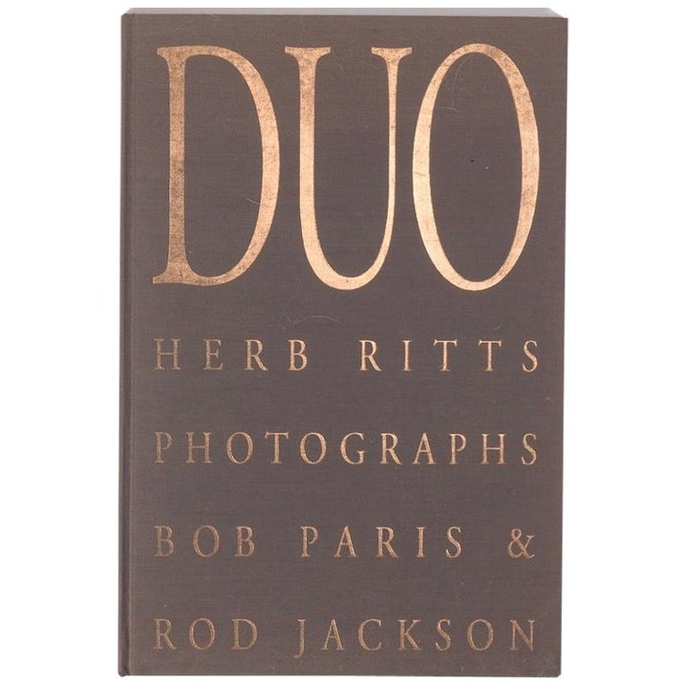 Herb Ritts Duo First Edition 1991 For Sale