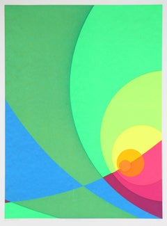 Split Infinity #B3S, Abstract Serigraph
