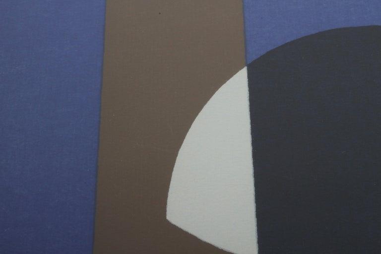 Herbert Bayer, Blue Moon Lithograph, Bauhaus Artist For Sale 3