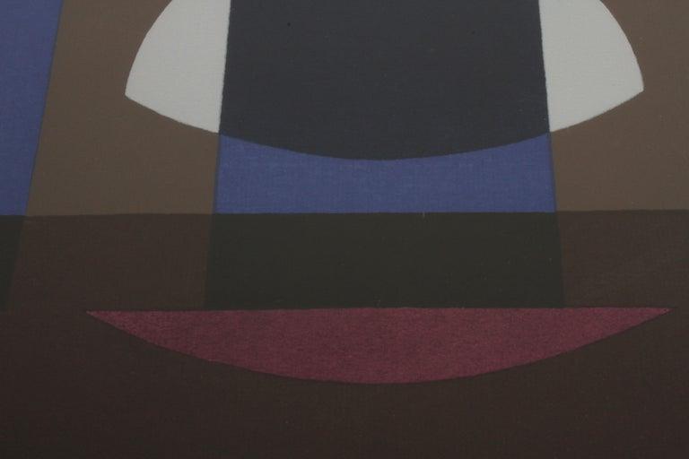 Herbert Bayer, Blue Moon Lithograph, Bauhaus Artist For Sale 1