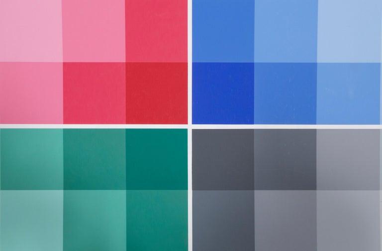 Four Scales, Bauhaus Silkscreen by Herbert Bayer For Sale 1
