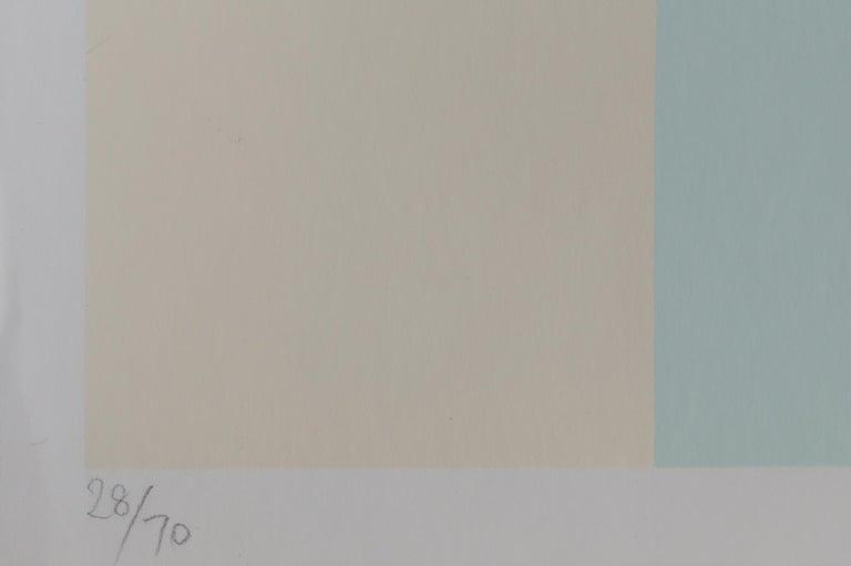 Four Scales, Bauhaus Silkscreen by Herbert Bayer For Sale 2