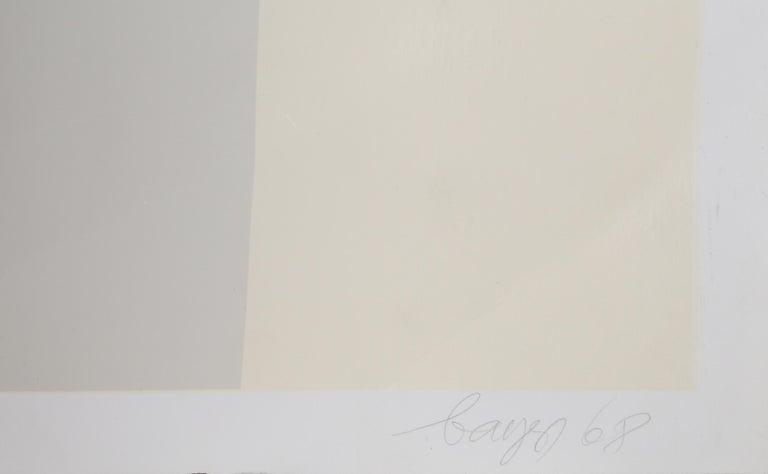 Four Scales, Bauhaus Silkscreen by Herbert Bayer For Sale 3