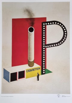 Sale and Marketing Kiosk for P Cigarettes (Bauhaus)  - $35 SHIPPING U.S. only