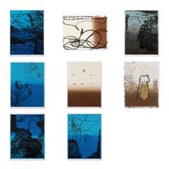 Die Pflicht des Einsamen, Suite of 8 Silkscreens, Contemporary Art, 21st Century