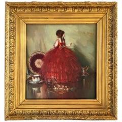 Herbert Davis Richter Still Life with Doll and Tea-Set