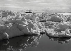 Beautiful Broken Ice, Reflections and the Terra Nova, 7 January 1911