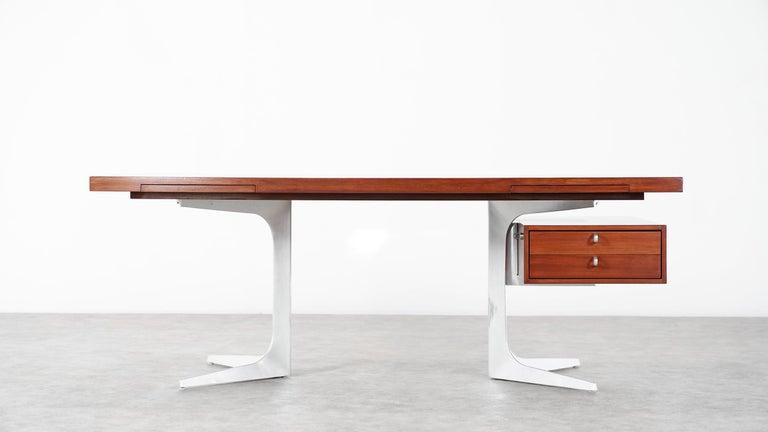 Herbert Hirche Executive Writing Desk Top Series by Christian Holzäpfel, 1967 11