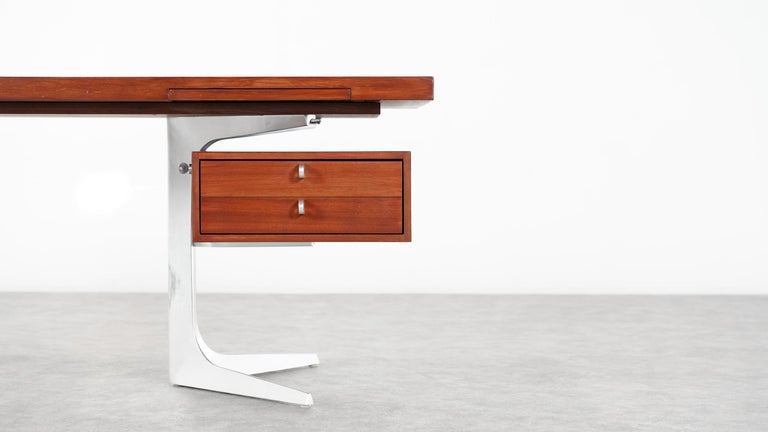 Herbert Hirche Executive Writing Desk Top Series by Christian Holzäpfel, 1967 12