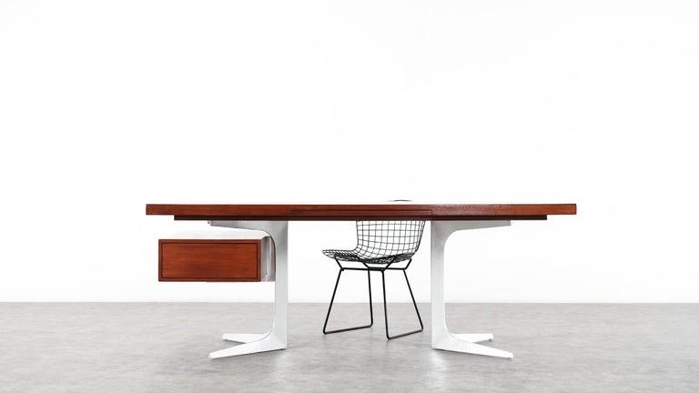 Herbert Hirche Executive Writing Desk Top Series by Christian Holzäpfel, 1967 14