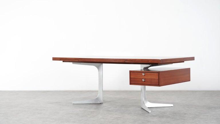 Herbert Hirche Executive Writing Desk Top Series by Christian Holzäpfel, 1967 15