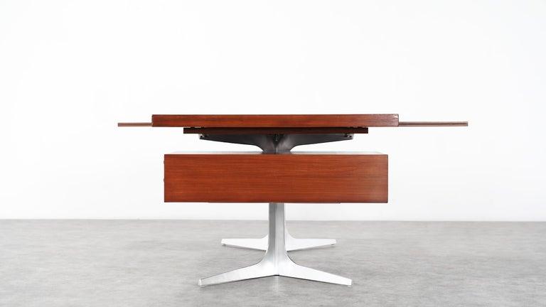 Herbert Hirche Executive Writing Desk Top Series by Christian Holzäpfel, 1967 17