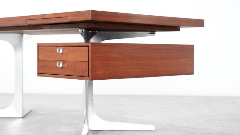 Herbert Hirche Executive Writing Desk Top Series by Christian Holzäpfel, 1967 19