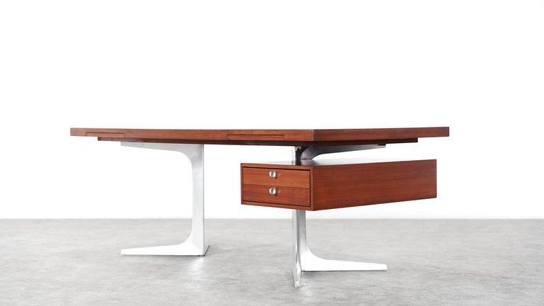 Herbert Hirche Executive Writing Desk Top Series by Christian Holzäpfel, 1967 2
