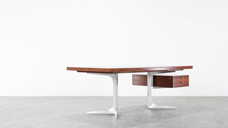 Herbert Hirche Executive Writing Desk Top Series by Christian Holzäpfel, 1967 3