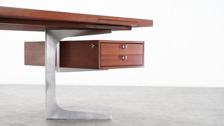 Herbert Hirche Executive Writing Desk Top Series by Christian Holzäpfel, 1967 4