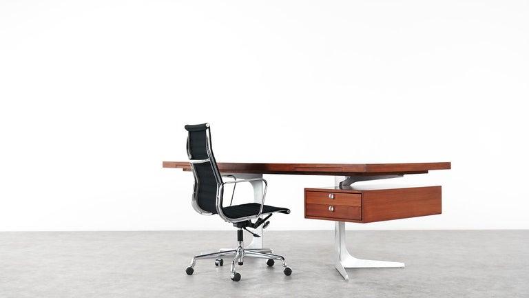 Herbert Hirche Executive Writing Desk Top Series by Christian Holzäpfel, 1967 5