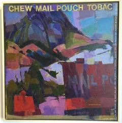 "Oil on Canvas - ""Mail Pouch Barn - LEGEND"", San Luis obispo, California, 1991"