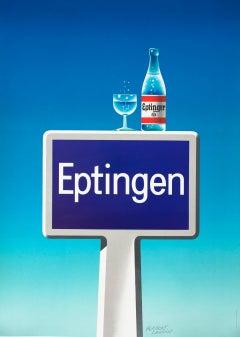 """""""Eptingen"""" Original Vintage Beverage Poster"""