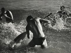 Men in North Sea, Germany