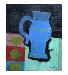 Untitled Post Impressionist Minimal Still Life Painting