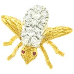 Herbert Rosenthal Bee Brooch