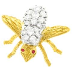 Herbert Rosenthal Diamond Bee Pin