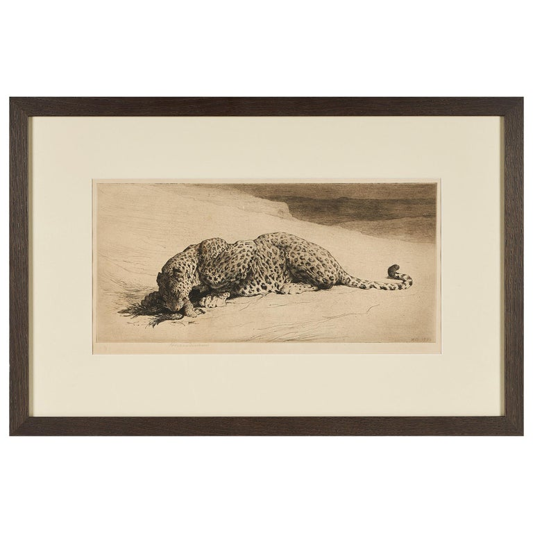 Herbert Thomas Dicksee Etching, Early 20th Century For Sale