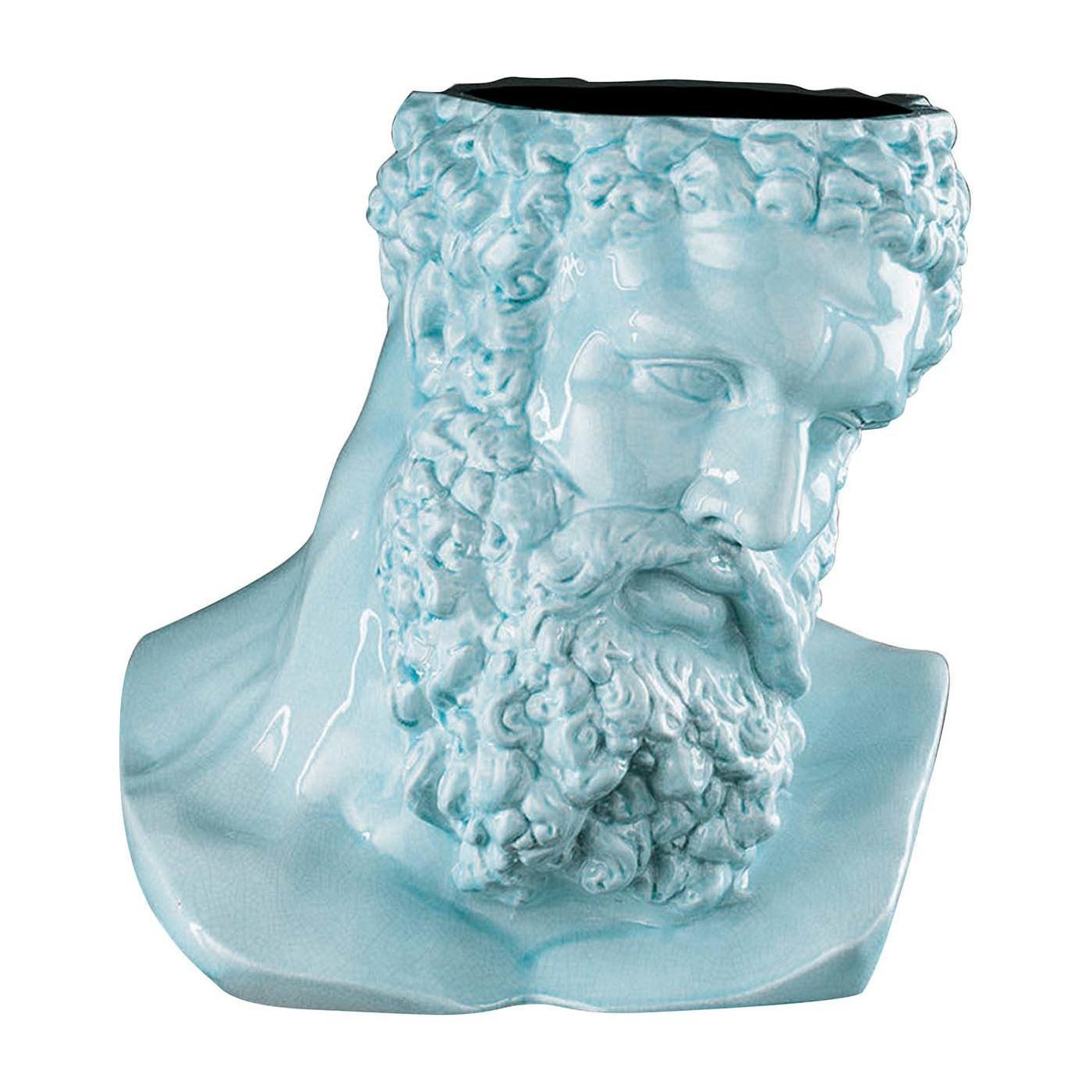 Hercules Purist Blue Vase