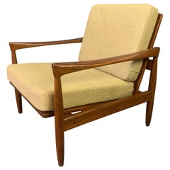 "Here is a Beautiful Modern Lounge Chair Model ""Kolding"" Designed by Erik Wortz"