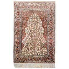 Hereke Silk Rugs, Oriental Rug Design, Hand Made Carpet Rugs for Sale