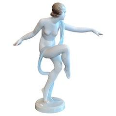 Herend Art Deco Dancer
