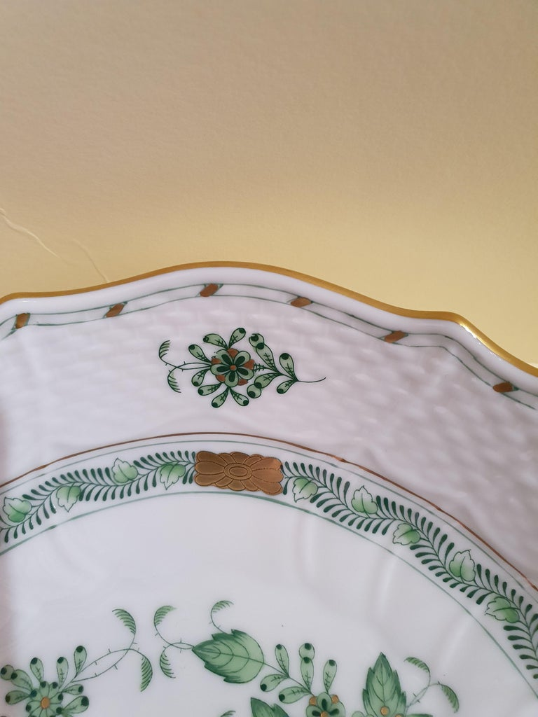 Gilt Herend Hand Painted Porcelain