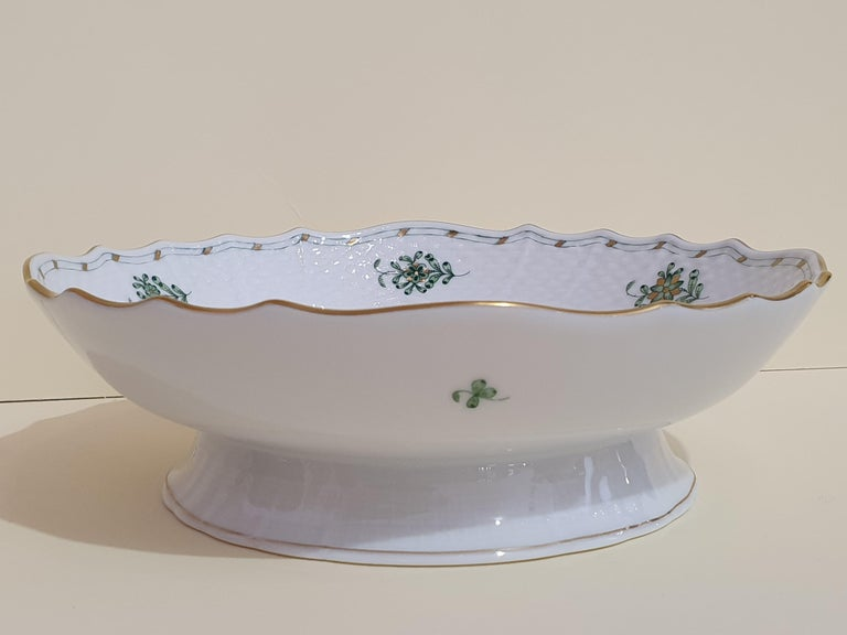 Contemporary Herend Hand Painted Porcelain