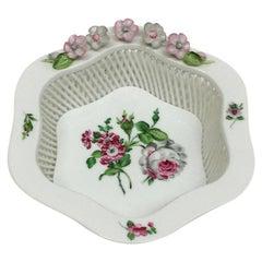 Herend Hungary Porcelain Basket