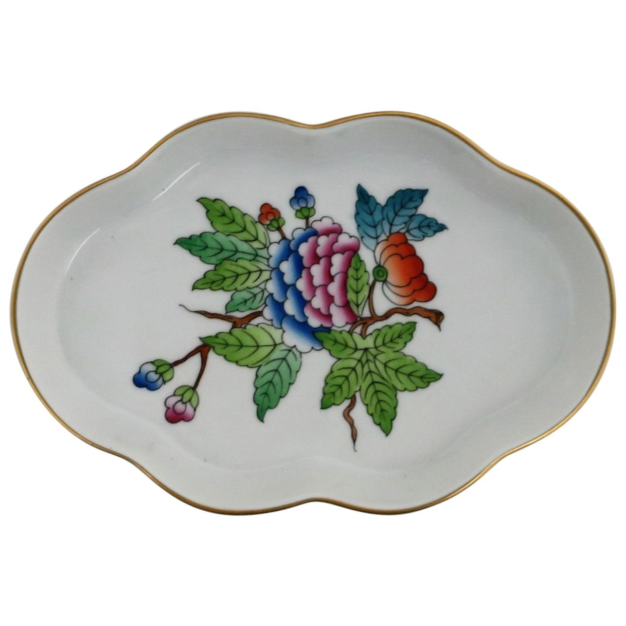 Herend Hungary Porcelain Jewelry Dish
