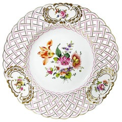 "Herend Hungary Porcelain ""Printemps"" Wall Decoration Plate"