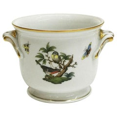 """Herend Porcelain Very Small """"Rothschild"""" Cachepot"""