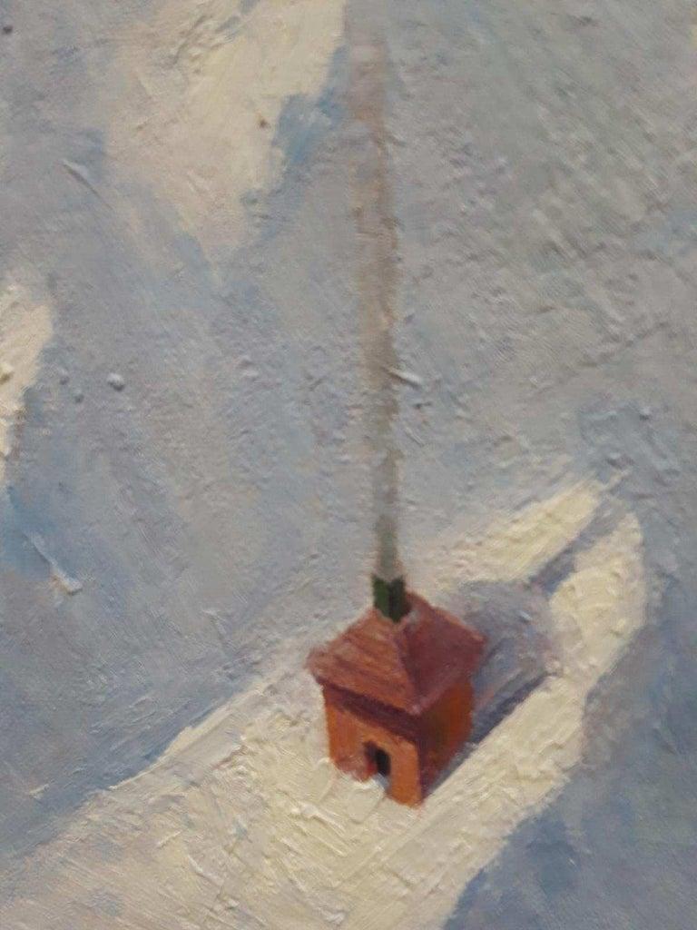 Refuge - Painting by Heriberto Mora