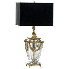 Heritage 2-Light Black and Gold Table Lamp