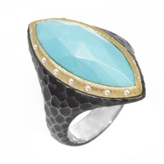Heritage Marquise Turquoise Ring
